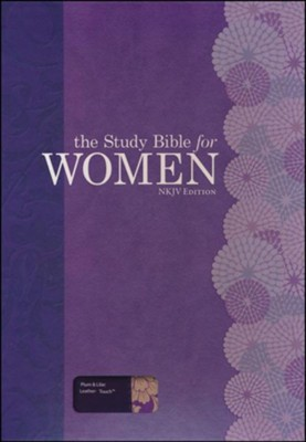 The Study Bible for Women, NKJV Edition, Plum and Lilac Leathertouch  -     Edited By: Dorothy Kelley Patterson, Rhonda Harrington Kelley