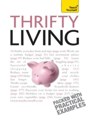 Thrifty Living: Teach Yourself / Digital original - eBook  -