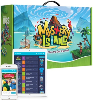 Mystery Island Traditional Super Starter Kit + Digital - Answers in Genesis VBS 2020  -
