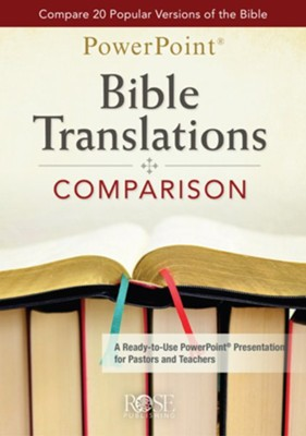 Bible Translations Comparison PowerPoint Presentation  -