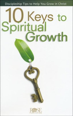 10 Keys to Spiritual Growth - Pamphlet   -