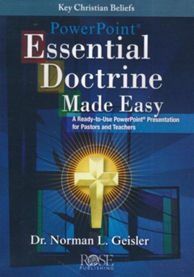 Essential Doctrine Made Easy - PowerPoint CD   -     By: Dr. Norman L. Geisler