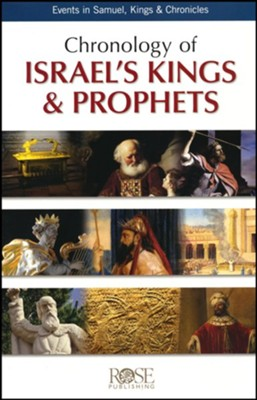 Chronology of Israel's Kings & Prophets Pamphlet   -