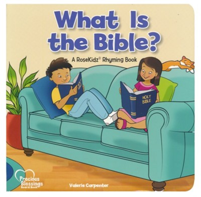 What is the Bible? - Board book   -     By: Valerie Carpenter     Illustrated By: Chad Thompson