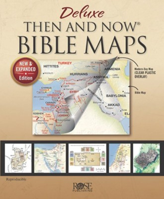 Then and Now Bible Maps, Deluxe Edition   -