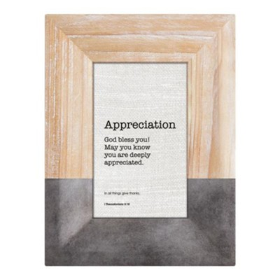 Appreciation, 1 Thessalonians 5:18 Framed Art  -
