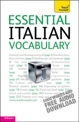 Essential Italian Vocabulary: Teach Yourself / Digital original - eBook  -     By: Mike Zollo