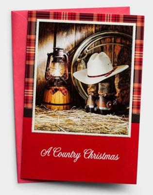 A Country Christmas Lantern