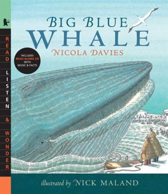 Big Blue Whale With Audio CD  -     By: Nicola Davies
