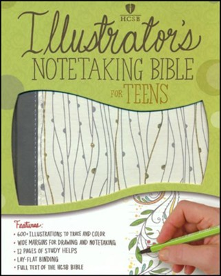 HCSB Illustrator's Notetaking Bible for Teens   -