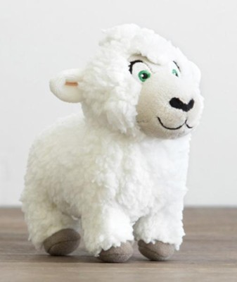 Shepherd On The Search, Plush Sheep  -