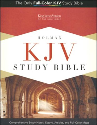 KJV Study Bible, Canary and Slate Grey LeatherTouch, Thumb-Indexed  -
