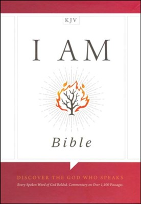 KJV I Am Bible, Black LeatherTouch  -