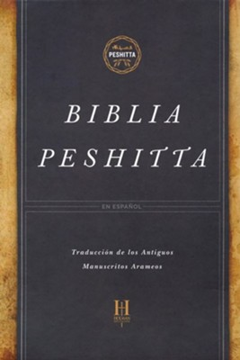 Biblia Peshitta, Negro, Piel Fabricada  (The Peshitta Bible, Bonded Leather, Burgundy)  -