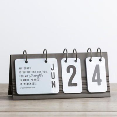 Everyday Desktop Flip Calendar  -
