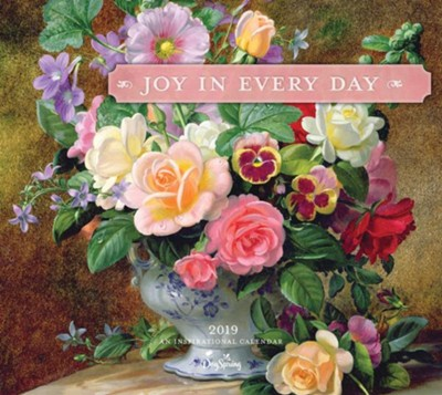 2019 Joy In Every Day, Wall Calendar  -