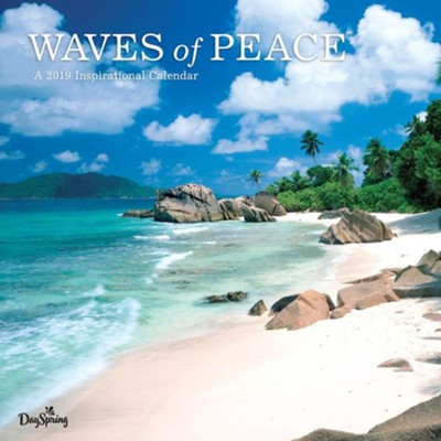 2019 Waves of Peace, Wall Calendar  -