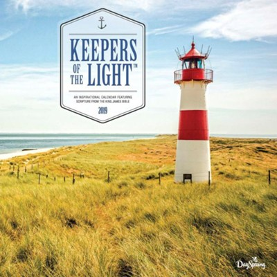2019 Keepers of the Light, Wall Calendar  -