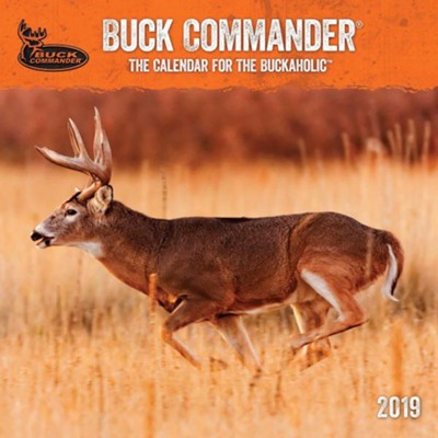 2019 Buck Commander, Wall Calendar  -