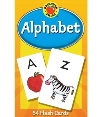 Brighter Child Alphabet Flash Cards   -