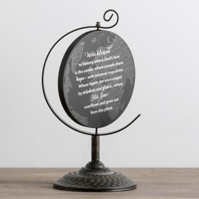 Blessed Globe Plaque  -
