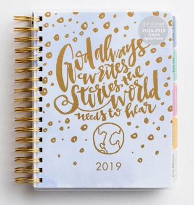2019 God Always, 18 Month Planner   -