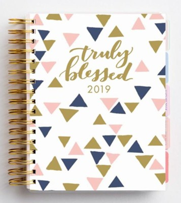 2019 Truly Blessed, 18 Month Planner   -