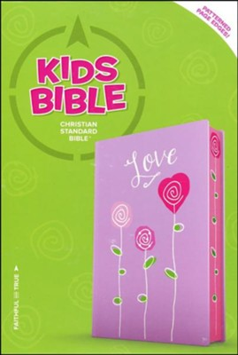 CSB Kids Bible, Love LeatherTouch  -