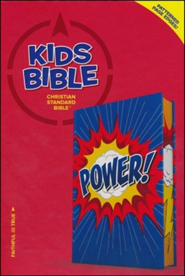 CSB Kids Bible, Power LeatherTouch  -