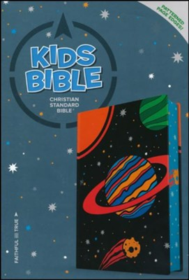 CSB Kids Bible, Space LeatherTouch  -