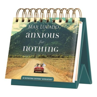 Anxious For Nothing Daybrightener  -     By: Max Lucado