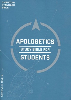 CSB Apologetics Study Bible for Students, Hardcover, Thumb-Indexed  -     By: Sean McDowell