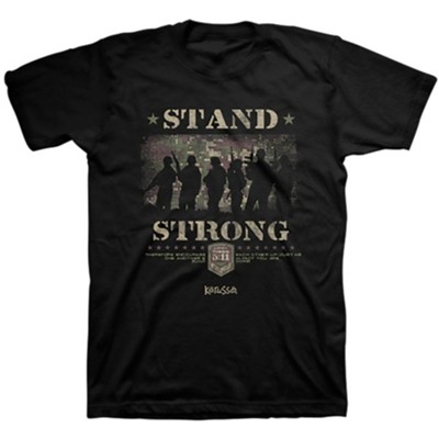 Stand Strong, Soldiers, Shirt, Black, X-Large  -