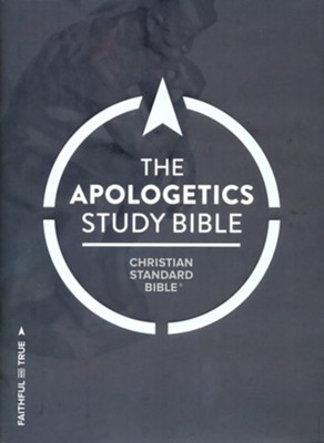 CSB Apologetics Study Bible, Hardcover, Thumb-Indexed  -