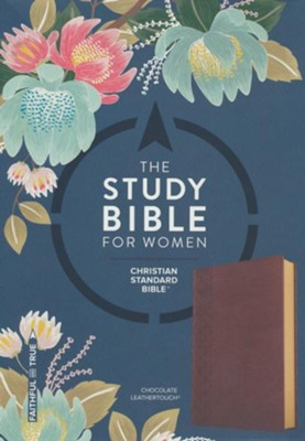 The CSB Study Bible for Women, Chocolate LeatherTouch  -     Edited By: Dorothy Kelley Patterson, Rhonda Harrington Kelley
