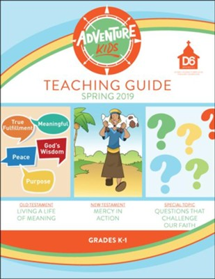 D6: Adventure Kids Extra Teaching Guide, Spring 2020   -