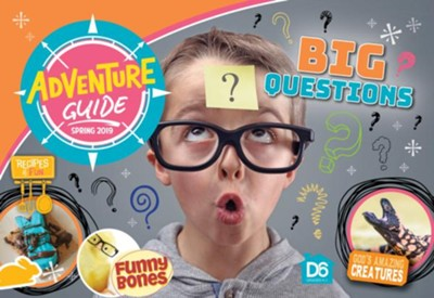 D6: Adventure Kids Devotional Guide, Spring 2019  -