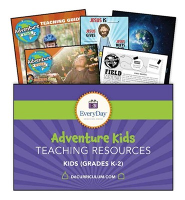 D6: Adventure Kids Teaching Essentials for Grades K-1 (ESV), Fall 2019  -