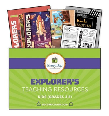 D6: Explorers Teaching Essentials (KJV), Fall 2018  -
