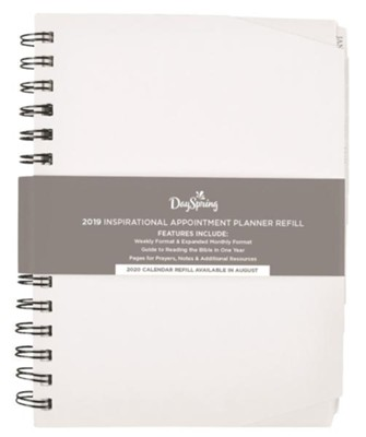 2019 Appointment Planner, Imitation Leather, Refill  -