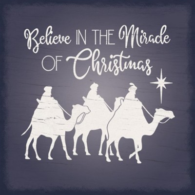 Believe In the Miracle of Christmas Coaster  -