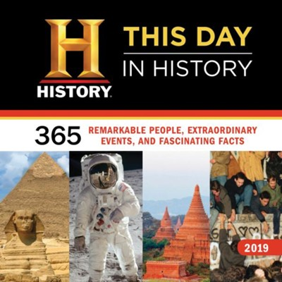 2019 History Channel This Day in History Wall Calendar  -     By: History Channel