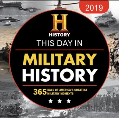 2019 History Channel This Day in Military History Boxed Calendar  -     By: History Channel