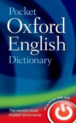 Pocket Oxford English Dictionary  -     By: Oxford Dictionaries