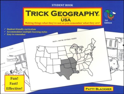 Trick Geography: USA Student Book   -     By: Patty Blackmer