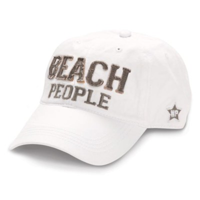 Beach People Cap, White  -     By: We People