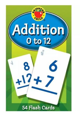 Brighter Child Addition 0 to 12 Flash Cards   -