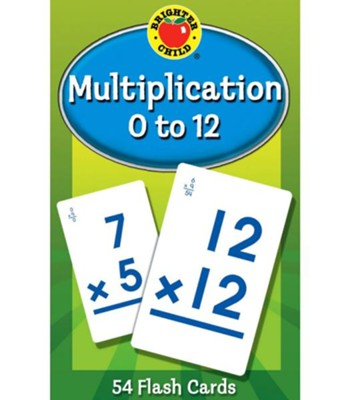 Brighter Child Multiplication 0 to 12 Flash Cards   -