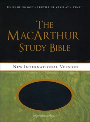 Niv macarthur study bible leathersoft raven thumb indexed niv macarthur study bible leathersoft raven thumb indexed fandeluxe Gallery