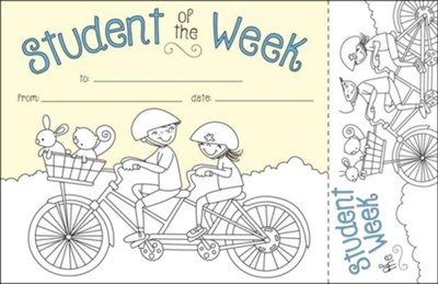Color Me! Student of the Week Recognition Awards & Bookmarks (Pack of 30)  -